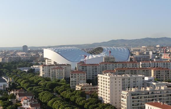 Photo Cruise & Run Méditerranée Marseille stade Vélodrome