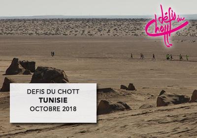 Défis du Chott 2018